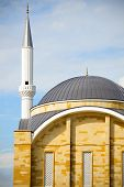 picture of constantinople  - Minaret of the mosque and the sky - JPG