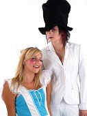 image of mad hatter  - Alice in Wonderland with the Mad Hatter - JPG