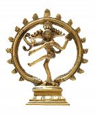 pic of bharata-natyam  - Statue of indian hindu god Shiva Nataraja  - JPG