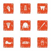 Readiness Icons Set. Grunge Set Of 9 Readiness Vector Icons For Web Isolated On White Background poster