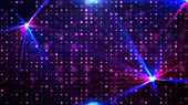 Purple disco lights background