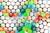 Backgrounds and Textures. Plastic Straws layered creating an interesting 3-D textured photo backgrou poster