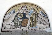 image of scribes  - Greece Patmos in the Dodecanese Islands Skala  - JPG
