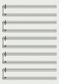 picture of musical scale  - piano sheet music - JPG