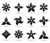 pic of iron star  - ninja stars - JPG