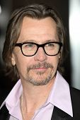 HOLLYWOOD - JAN 11: Actor Gary Oldman attends The Book of Eli premiere on January 11 2010 at Grauman
