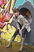 foto of graff  - Impressions of a new urban youth - JPG
