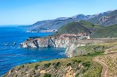 image of bixby  - Bixby Creek Bridge on Pacific Coast - JPG