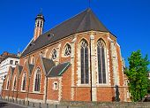pic of church mary magdalene  - The Saint Maria Magdalenakerk church in brussels - JPG
