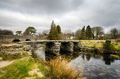 Clapper Bridge In Darmoor, Devon