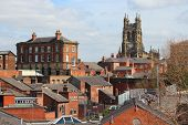 stock photo of church-of-england  - Stockport in North West England  - JPG