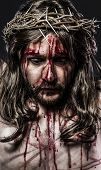 pic of sacred heart jesus  - representation of the passion of Jesus Christ - JPG