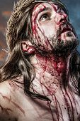 picture of passion christ  - calvary jesus - JPG