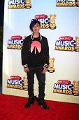 LOS ANGELES - APR 27:  Cole Plante arrives at the Radio Disney Music Awards 2013 at the Nokia Theate