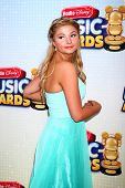 LOS ANGELES - APR 27:  Stefanie Scott arrives at the Radio Disney Music Awards 2013 at the Nokia The