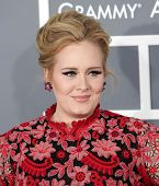 LOS ANGELES - FEB 10:  Adele arrives to the Grammy Awards 2013  on February 10, 2013 in Los Angeles,
