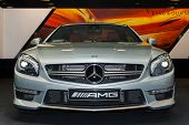 New Generation Of Mercedes-Benz Sl 63 AMG Frontview Flash