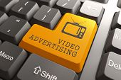 pic of televisor  - Video Advertising  - JPG