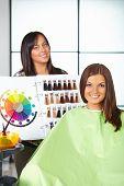 stock photo of hair dye  - Hair salon - JPG