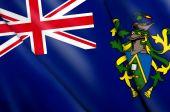 Постер, плакат: Флаг островов Питкэрн Великобритания