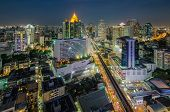 pic of cbd  - Bangkok Central Business District  - JPG