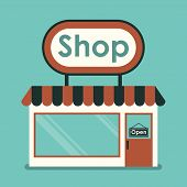 stock photo of hollow  - Shop Front - JPG
