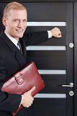 stock photo of door  - Portrait of door - JPG