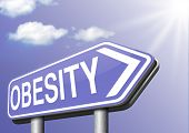 pic of obese  - obesity and over weight or obese people   - JPG