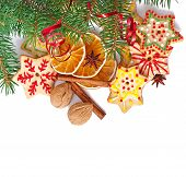 foto of christmas spices  - Christmas cookies - JPG
