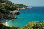 picture of beach holiday  - stunning beach in Greece - JPG