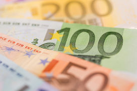 foto of payment methods  - many different euro bills - JPG