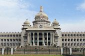 foto of vidhana soudha  - Facade of a government building - JPG
