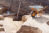 pic of wheelbarrow  - Shovel - JPG