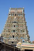 foto of tamil  - Low angle view of Kapaleeshwarar Temple - JPG