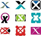Alphabetical Logo Design Concepts. Letter X. Check my portfolio for more of this series.