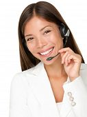 stock photo of mixed race  - Headset - JPG