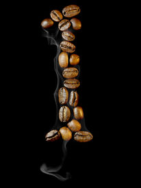 pic of alphabet letters  - Coffee letter - JPG