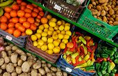 Fruit And Veg Stand poster