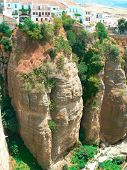 foto of urbanisation  - Ronda canyon  - JPG