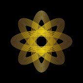 Infinity Loop Logo Vector, Technology Icon, Geometric Curve Continues Logo, Company Logo, Logo Desig poster