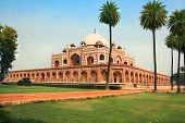 picture of suny  - Garden view of Humayun - JPG