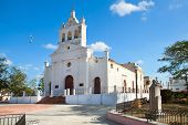 picture of senora  - Old church Nuestra Senora del Carmen built in 1748 - JPG