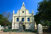 St. Francis Church in Cochin. Indian oldest European built churdh where was buired Vasco da Gama for