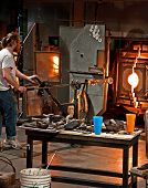 Tacoma, Wa - November: Museum Of Glass Demonstration
