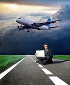 Постер, плакат: Самолет