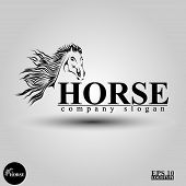 Horse logo pic.