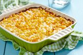 picture of crust  - Macaroni and cheese - JPG