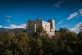 stock photo of south tyrol  - Brunico Castle - JPG
