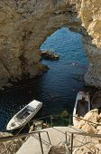 Boats In Grotto
