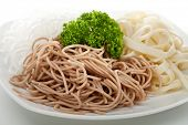 picture of buckwheat  - Buckwheat Spaghetti - JPG